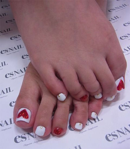 Cute-Valentines-Day-Toe-Nail-Art-Designs-Ideas-2014-5