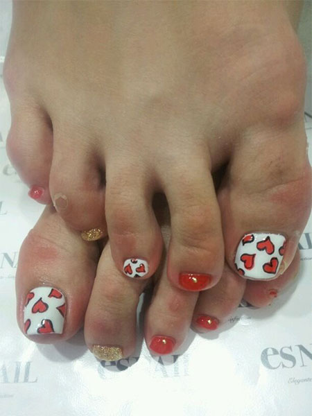 Cute-Valentines-Day-Toe-Nail-Art-Designs-Ideas-2014-6