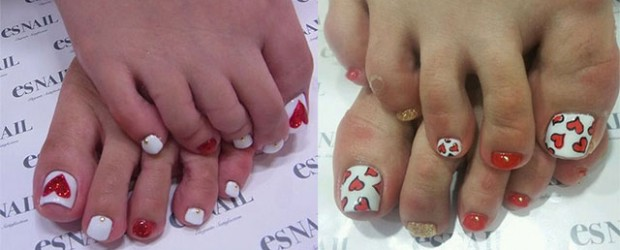 Cute-Valentines-Day-Toe-Nail-Art-Designs-Ideas-2014