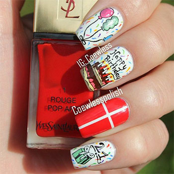 Easy-Birthday-Nails-Designs-Ideas-2014-10
