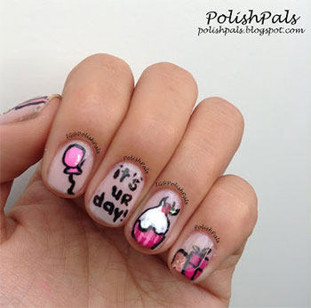 Easy-Birthday-Nails-Designs-Ideas-2014-12
