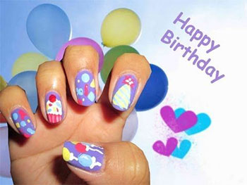 Easy-Birthday-Nails-Designs-Ideas-2014-13