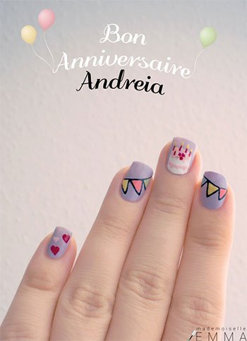 Easy-Birthday-Nails-Designs-Ideas-2014-15