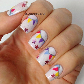 Easy-Birthday-Nails-Designs-Ideas-2014-2