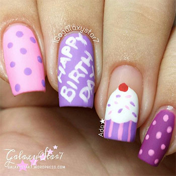 Easy-Birthday-Nails-Designs-Ideas-2014-5