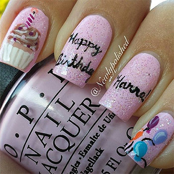 Easy-Birthday-Nails-Designs-Ideas-2014-6