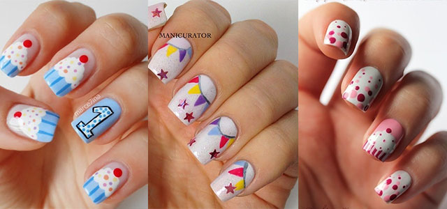 Easy-Birthday-Nails-Designs-Ideas-2014
