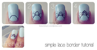 Easy bridal wedding nail art tutorials for girls 2014 fabulous easy bridal wedding nail art tutorials for girls prinsesfo Gallery