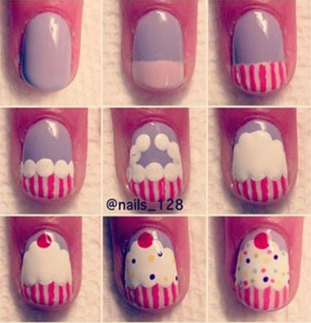 Easy-Happy-Birthday-Nail-Art-Tutorials-For-Beginners-Learners-2014-1