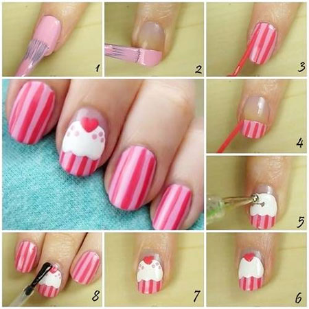 Easy-Happy-Birthday-Nail-Art-Tutorials-For-Beginners-Learners-2014-3