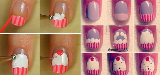 Easy-Happy-Birthday-Nail-Art-Tutorials-For-Beginners-Learners-2014