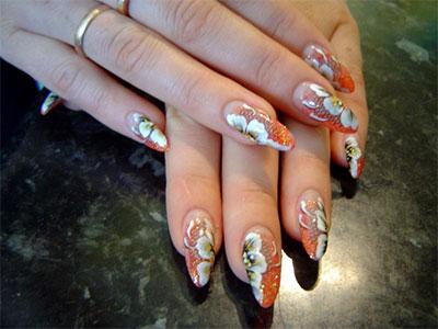 elegant chinese nail art designs  ideas 2014  fabulous