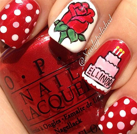 Happy-Birthday-Nail-Art-Designs-Ideas-2014-3