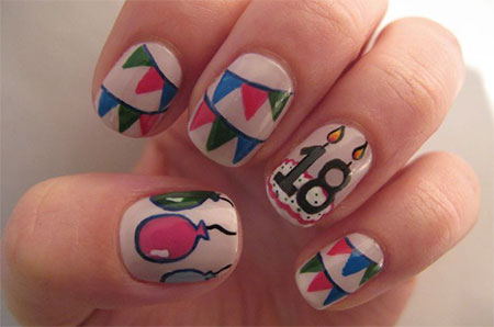 Happy-Birthday-Nail-Art-Designs-Ideas-2014-7