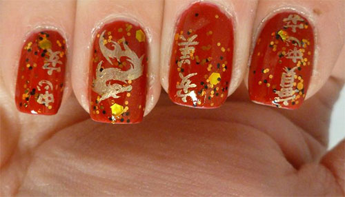 Inspiring chinese new year nail art designs ideas 2014 inspiring chinese new year nail art designs ideas prinsesfo Images