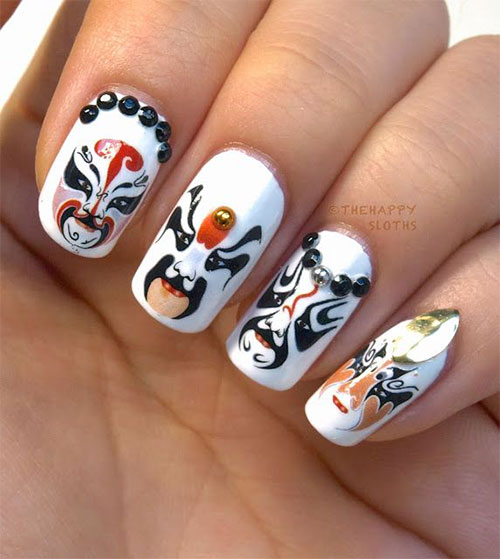 Inspiring-Chinese-New-Year-Nail-Art-Designs-Ideas-2014-4