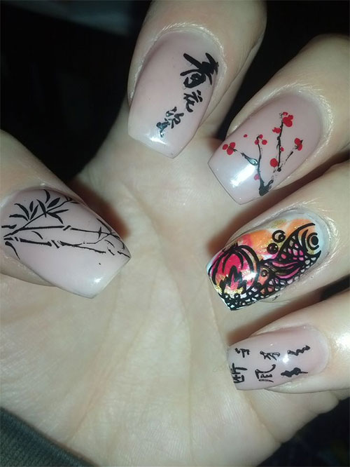 Inspiring-Chinese-New-Year-Nail-Art-Designs-Ideas-2014-6