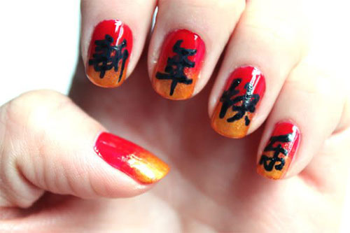 Inspiring-Chinese-New-Year-Nail-Art-Designs-Ideas-2014-7