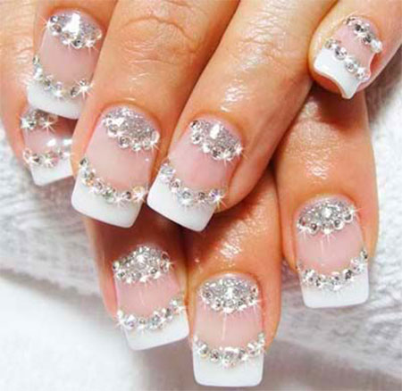 Inspiring Wedding Nail Art Designs & Ideas 2014 | Fabulous Nail ...
