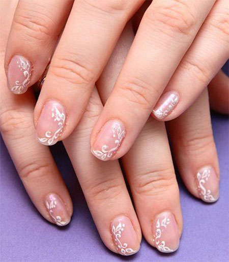 Inspiring Wedding Nail Art Designs Ideas 2014 4