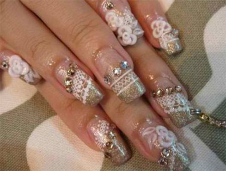 Inspiring-Wedding-Nail-Art-Designs-Ideas-2014-6