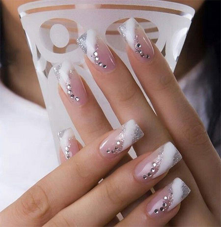 Inspiring Wedding Nail Art Designs & Ideas 2014