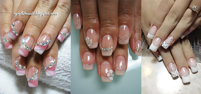 Inspiring Wedding Nail Art Designs Ideas 2014