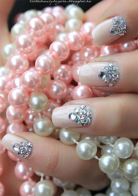 Simple-Pink-Wedding-Nail-Art-Designs-Ideas-2014-10