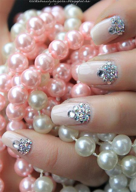 Simple-Pink-Wedding-Nail-Art-Designs-Ideas-2014-10