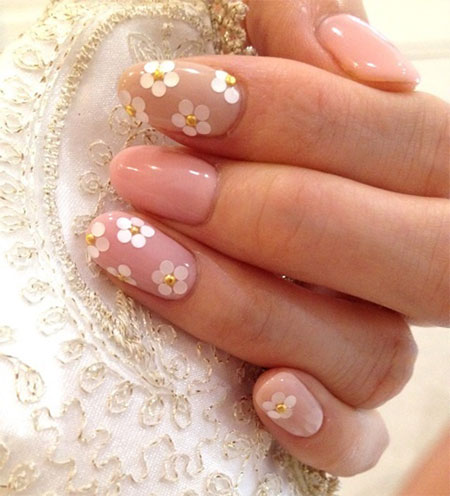 Simple-Pink-Wedding-Nail-Art-Designs-Ideas-2014-13