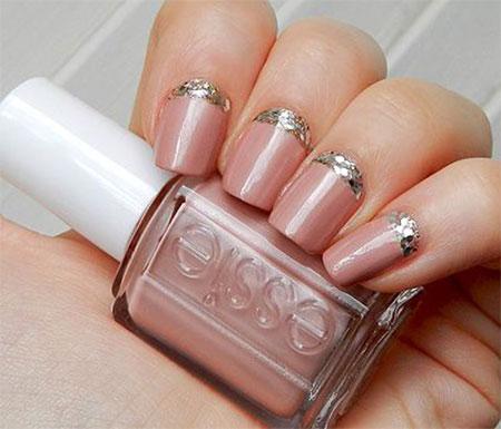 Simple-Pink-Wedding-Nail-Art-Designs-Ideas-2014-14