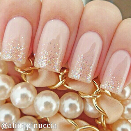 Simple-Pink-Wedding-Nail-Art-Designs-Ideas-2014-14