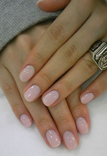 Simple-Pink-Wedding-Nail-Art-Designs-Ideas-2014-2