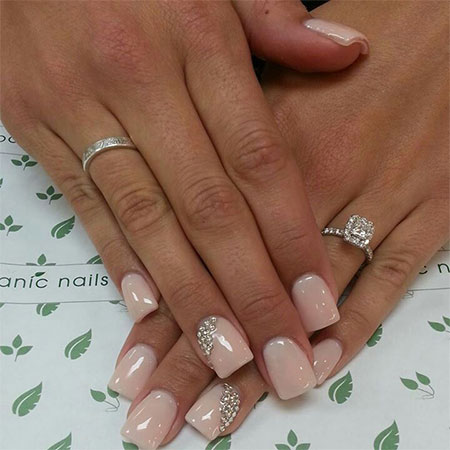 Simple-Pink-Wedding-Nail-Art-Designs-Ideas-2014-3