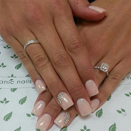 Simple-Pink-Wedding-Nail-Art-Designs-Ideas-2014-3
