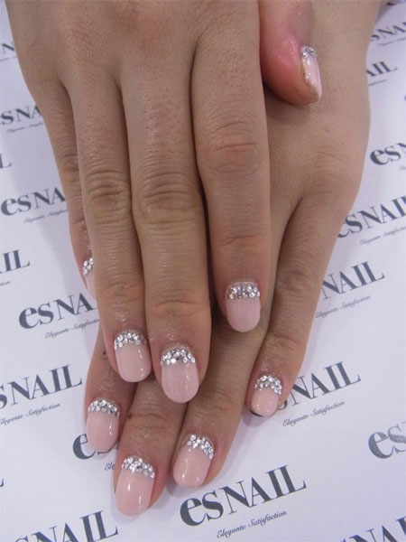 Simple-Pink-Wedding-Nail-Art-Designs-Ideas-2014-4
