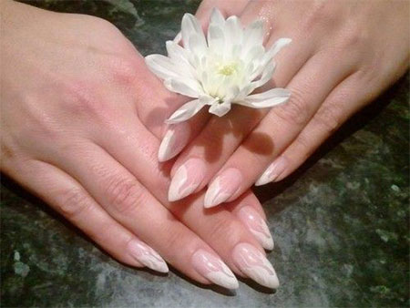 Simple-Pink-Wedding-Nail-Art-Designs-Ideas-2014-5