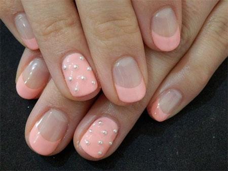 Simple-Pink-Wedding-Nail-Art-Designs-Ideas-2014-6