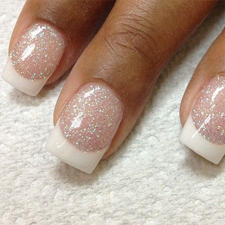 Simple-Pink-Wedding-Nail-Art-Designs-Ideas-2014-7