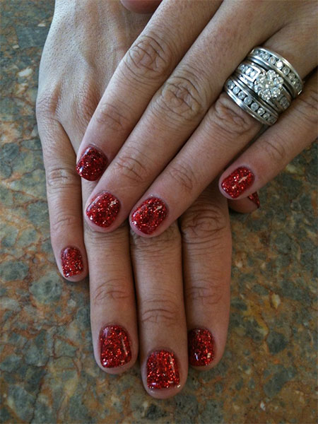 Simple-Red-Wedding-Nail-Art-Designs-Ideas-2014-3