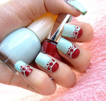 Simple-Red-Wedding-Nail-Art-Designs-Ideas-2014-7