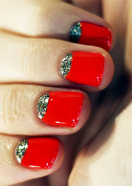Simple-Red-Wedding-Nail-Art-Designs-Ideas-2014-8
