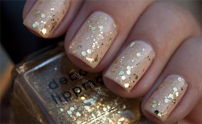 Smashing-Glitter-Wedding-Nail-Art-Designs-Ideas-2014-7
