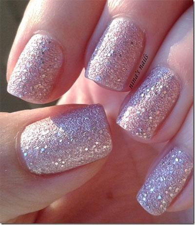 Smashing-Glitter-Wedding-Nail-Art-Designs-Ideas-2014-8