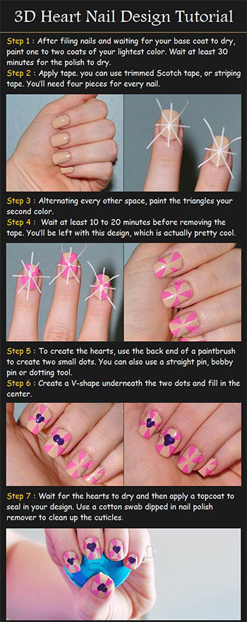 Very-Easy-Valentines-Day-Nail-Art-Tutorials-2014-For-Beginners-Learners-3