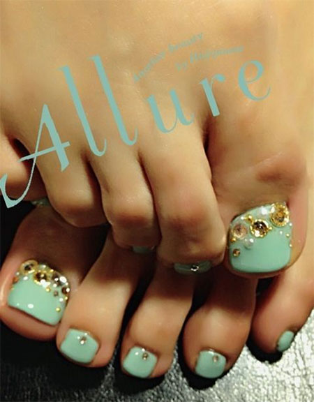 Wedding-Toe-Nail-Art-Designs-Ideas-2014-2