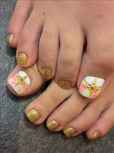 Wedding-Toe-Nail-Art-Designs-Ideas-2014-5