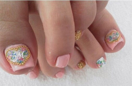 Wedding-Toe-Nail-Art-Designs-Ideas-2014-7