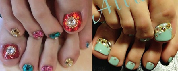 Wedding-Toe-Nail-Art-Designs-Ideas-2014