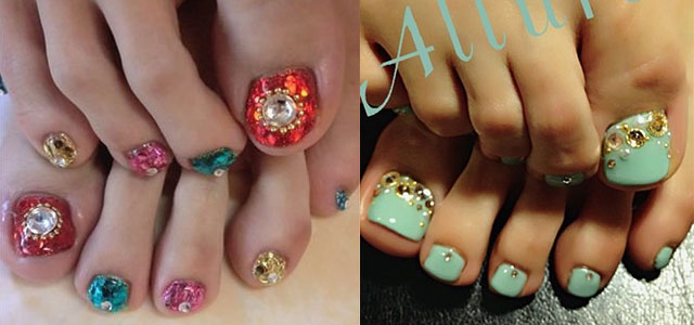 Wedding-Toe-Nail-Art-Designs-Ideas-2014